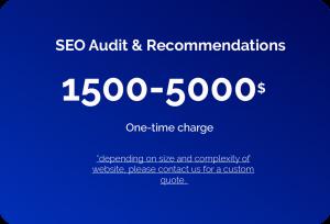 SEO audit & recommendations